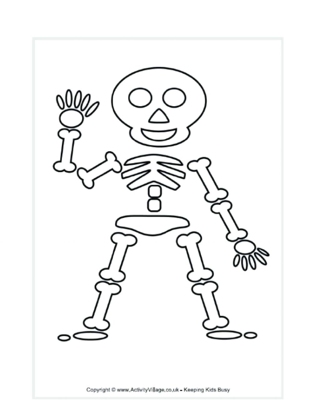 Body Parts Coloring Pages At Getcolorings