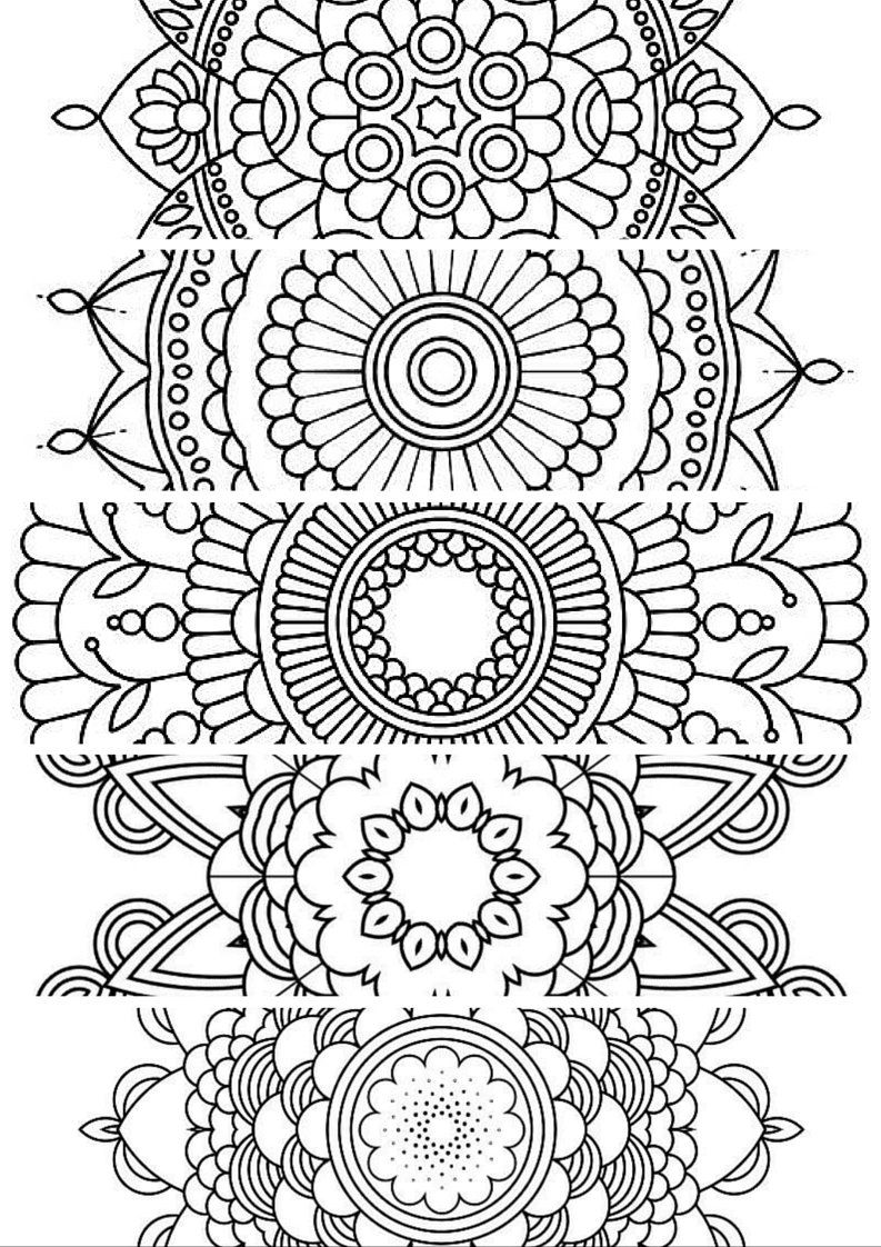 bookmark coloring pages at getcolorings  free