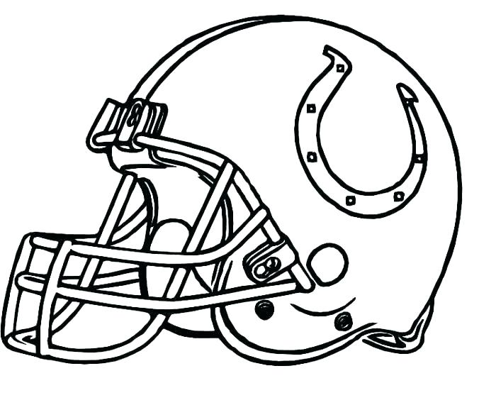 broncos coloring pages at getcolorings  free