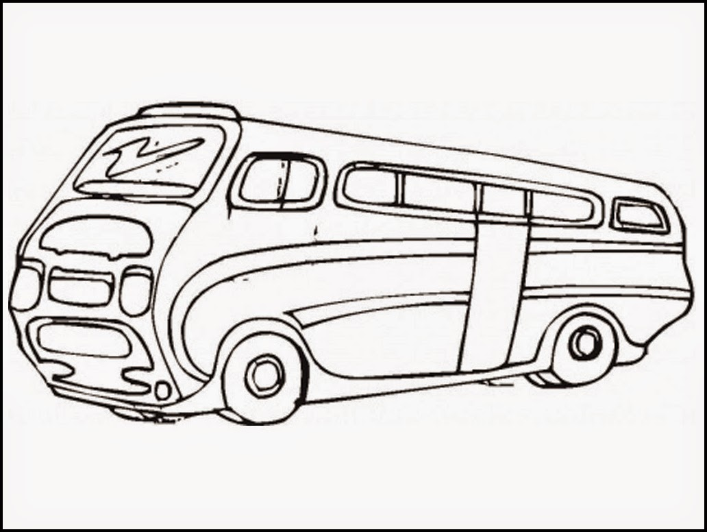 Bus Stop Coloring Pages At Getcolorings