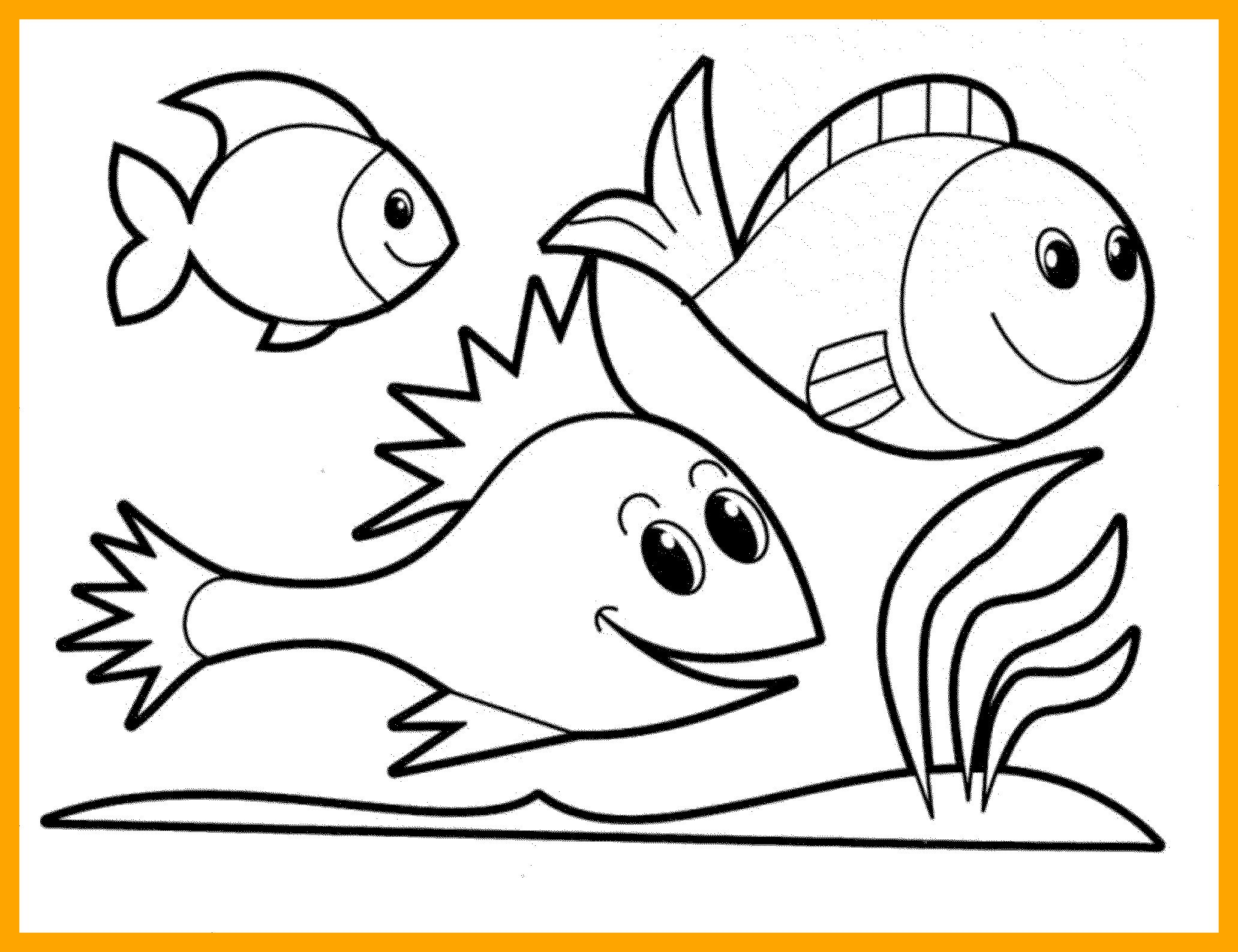 Cartoon Fish Coloring Pages At Getcolorings