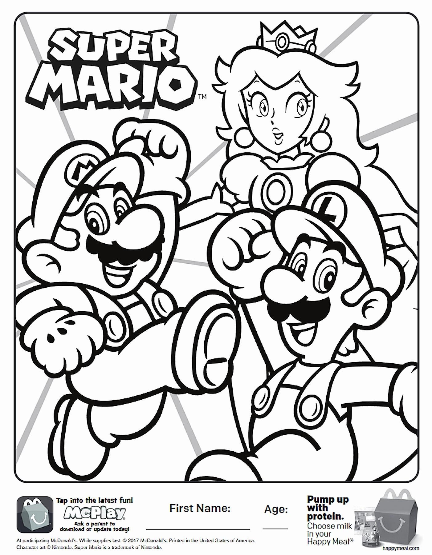 Disegni Da Colorare Super Mario Maker Pagine Da Colorare