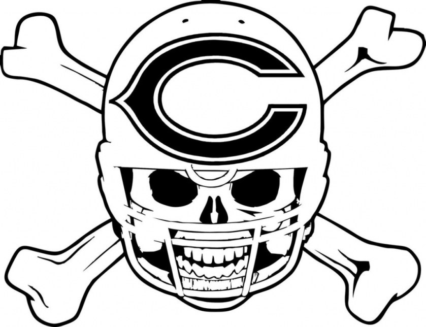 chicago bears coloring pages at getcolorings  free