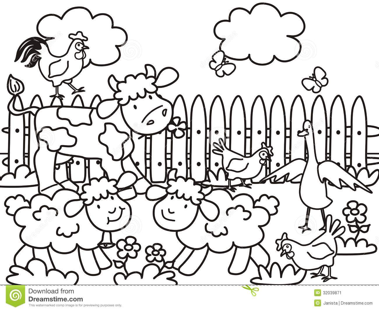 Children Playing Coloring Pages At Getcolorings