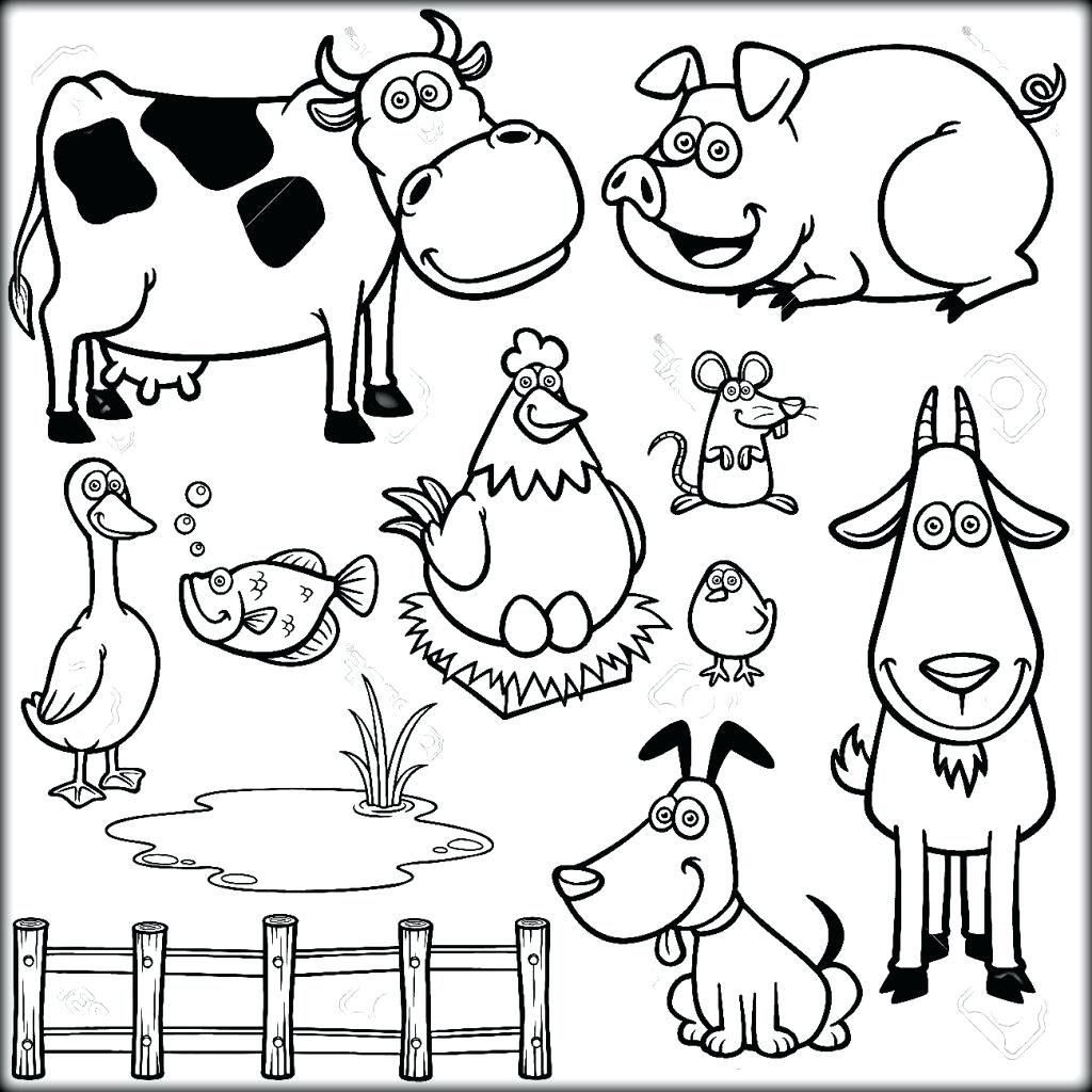Chinese New Year Animals Coloring Pages At Getcolorings