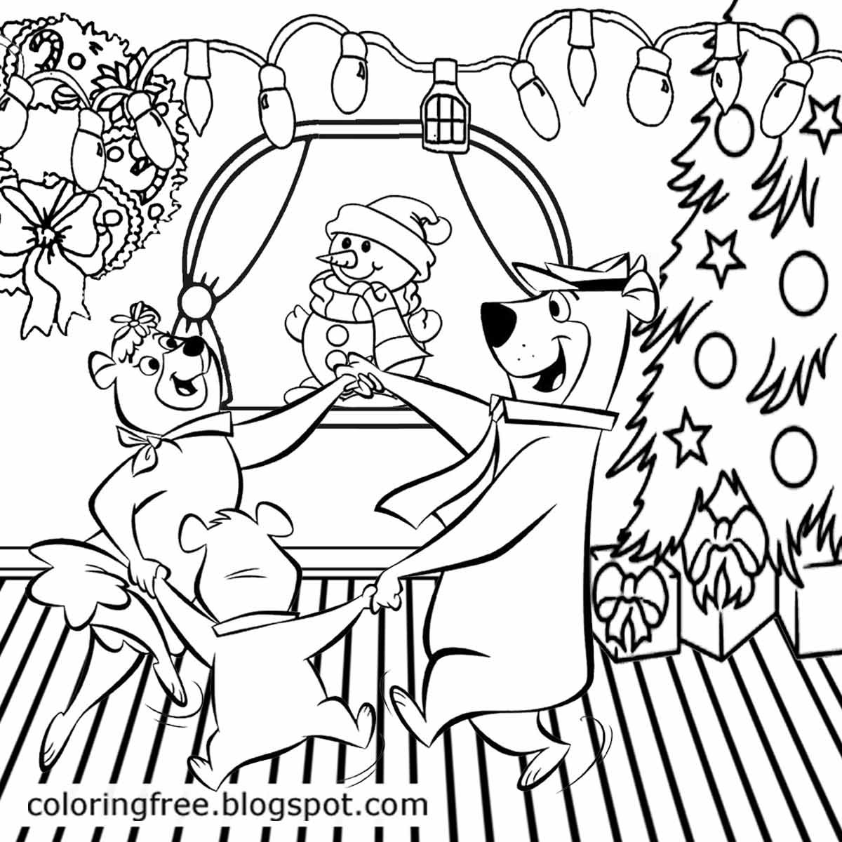 Christmas Party Coloring Pages At Getcolorings
