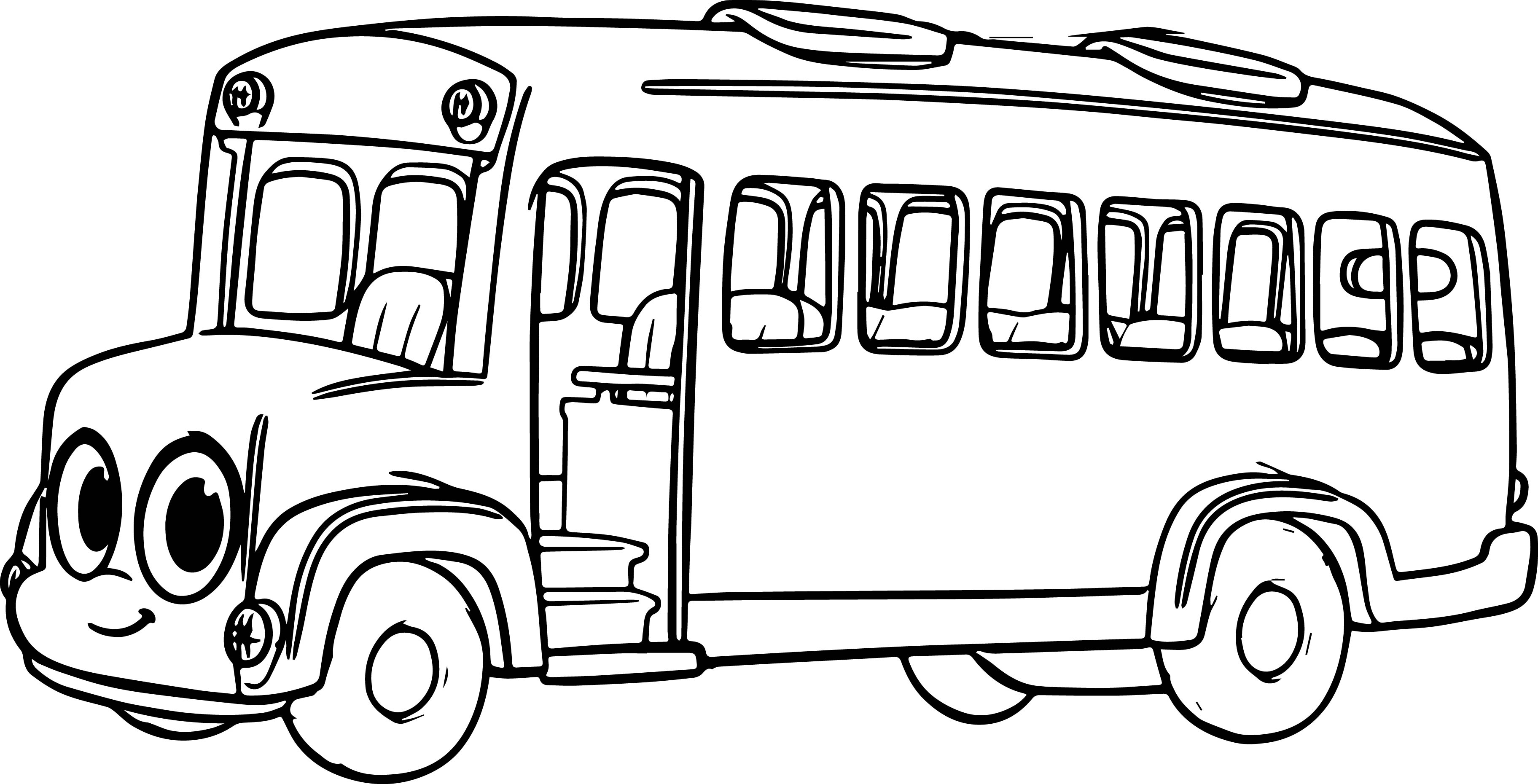 City Bus Coloring Page At Getcolorings