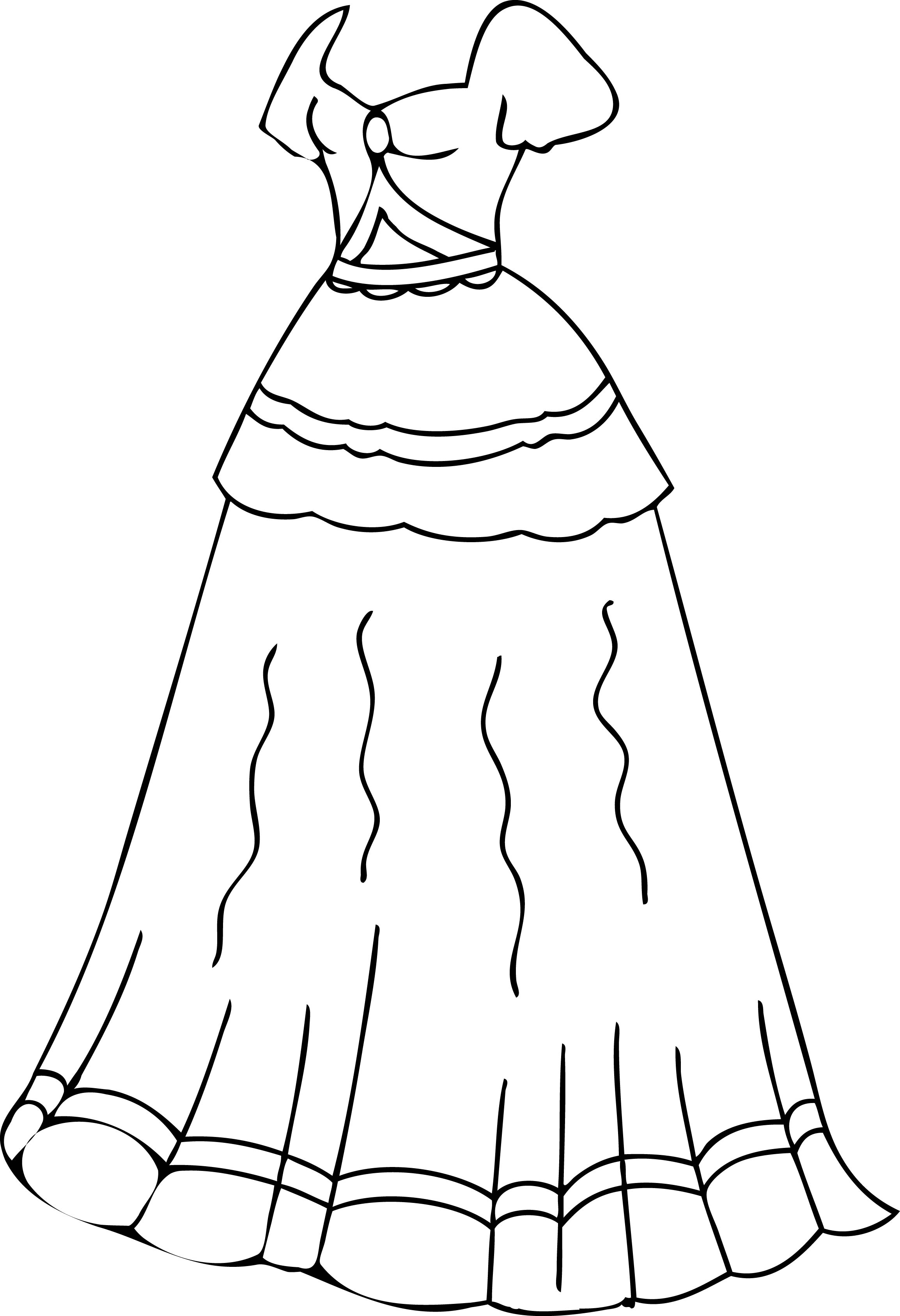 Clothing Coloring Pages For Preschoolers At Getcolorings