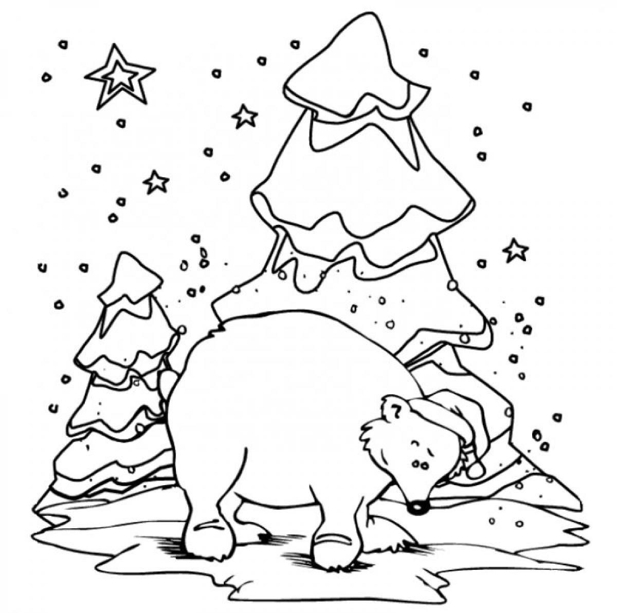 Coca Cola Polar Bear Coloring Pages At Getcolorings