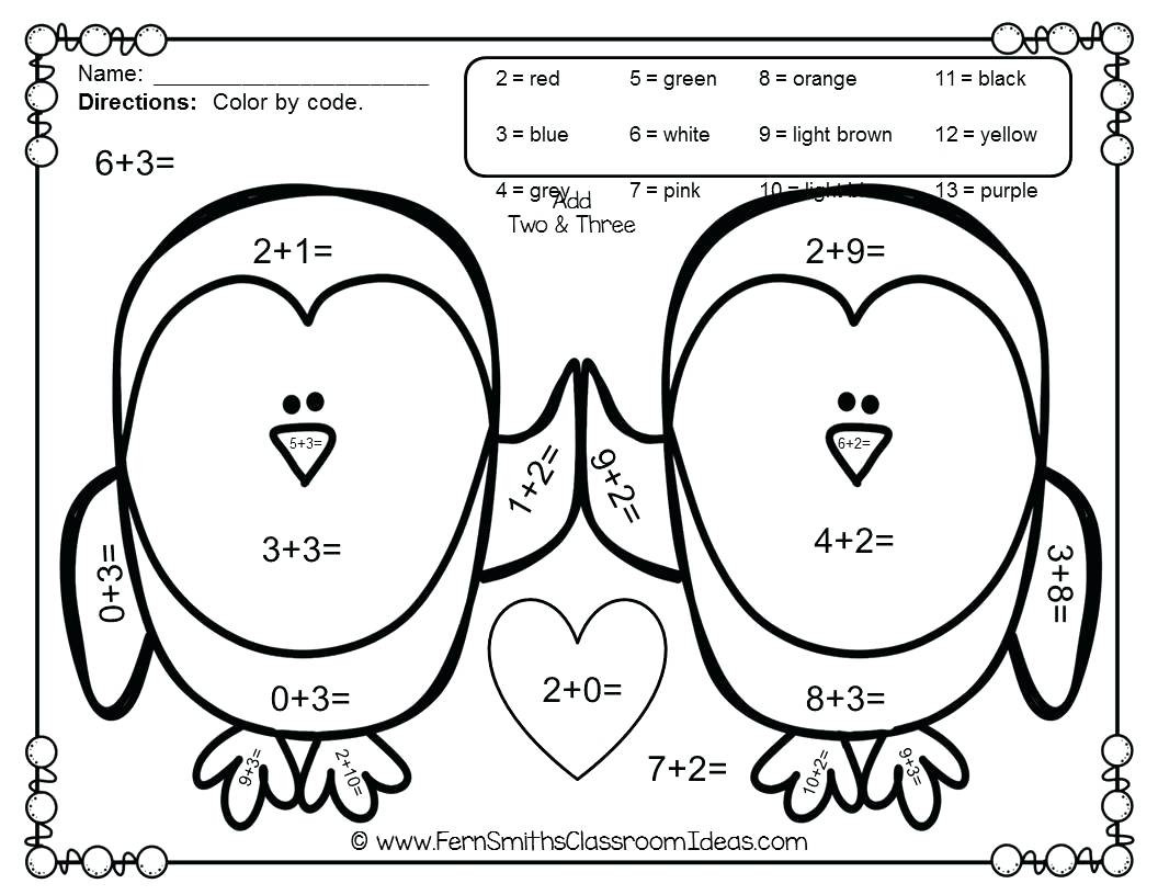Color By Number Valentine Coloring Pages At Getcolorings