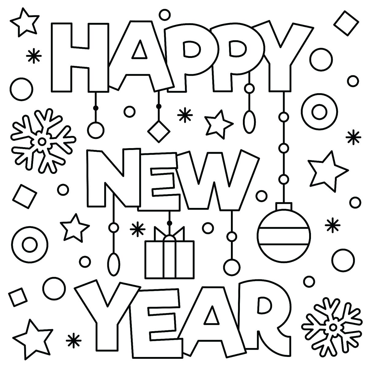Coloring Pages For January Month At Getcolorings