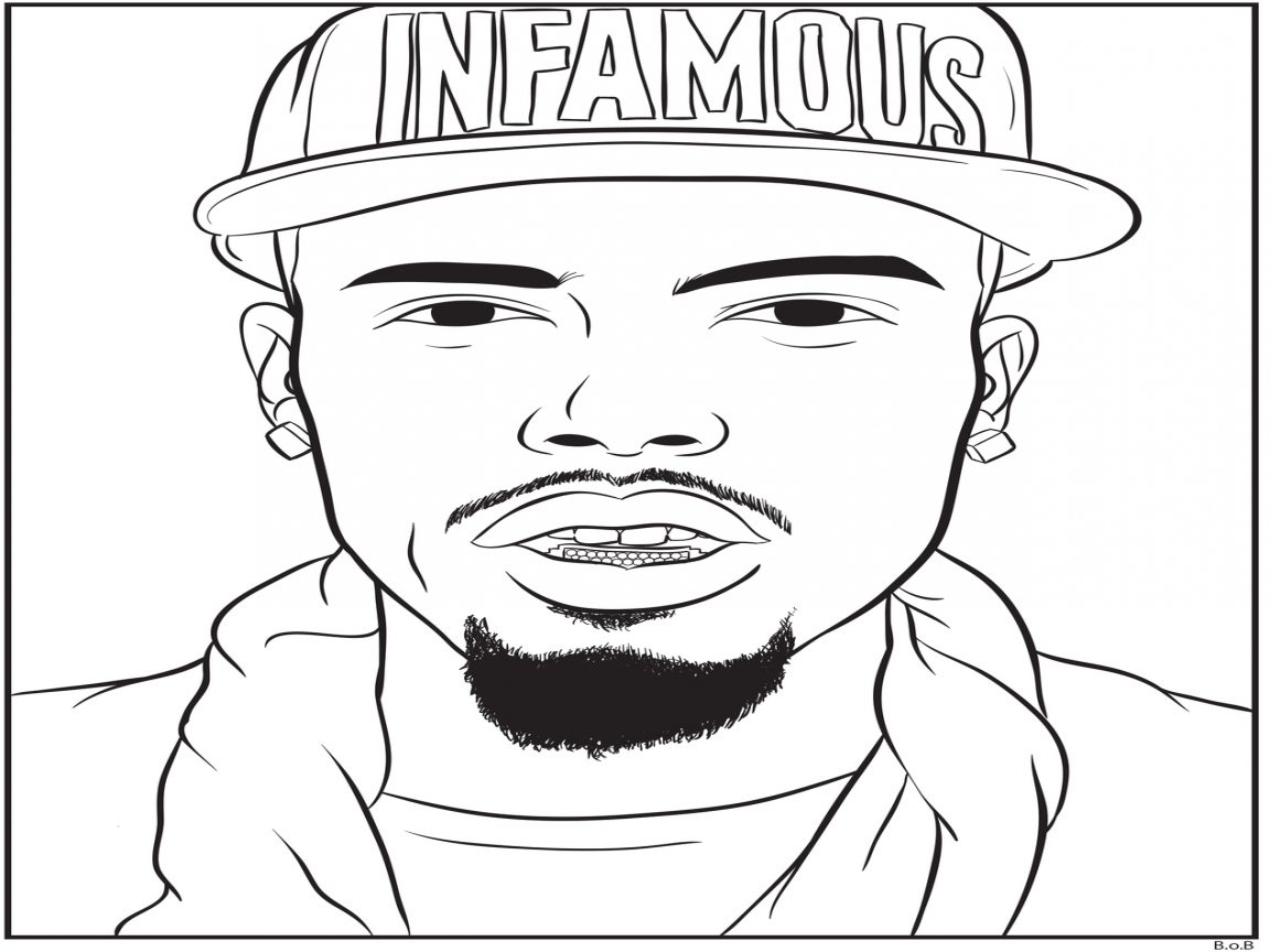Coloring Pages Rappers At Getcolorings