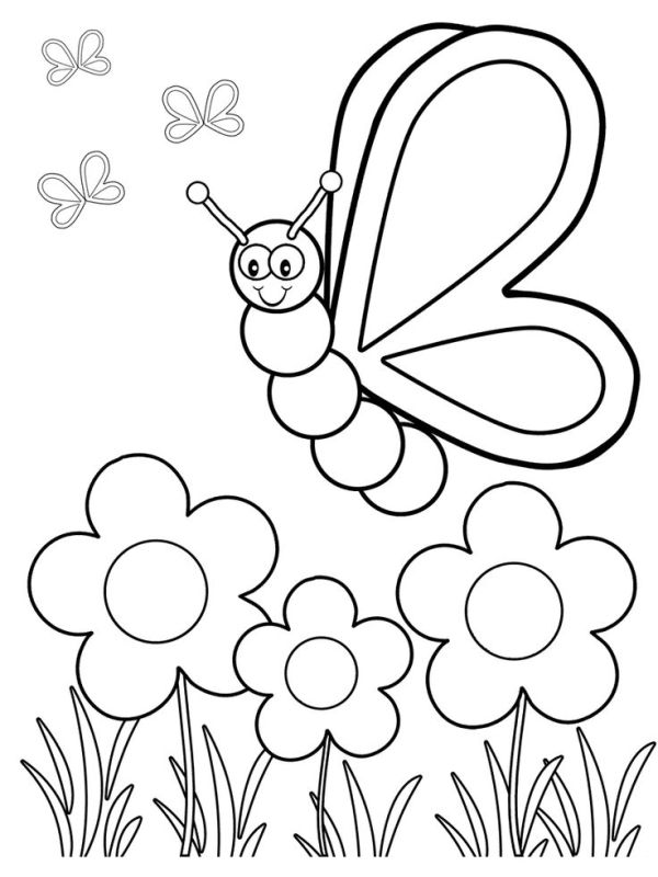 Colors Coloring Pages For Preschool at GetColorings.com ...