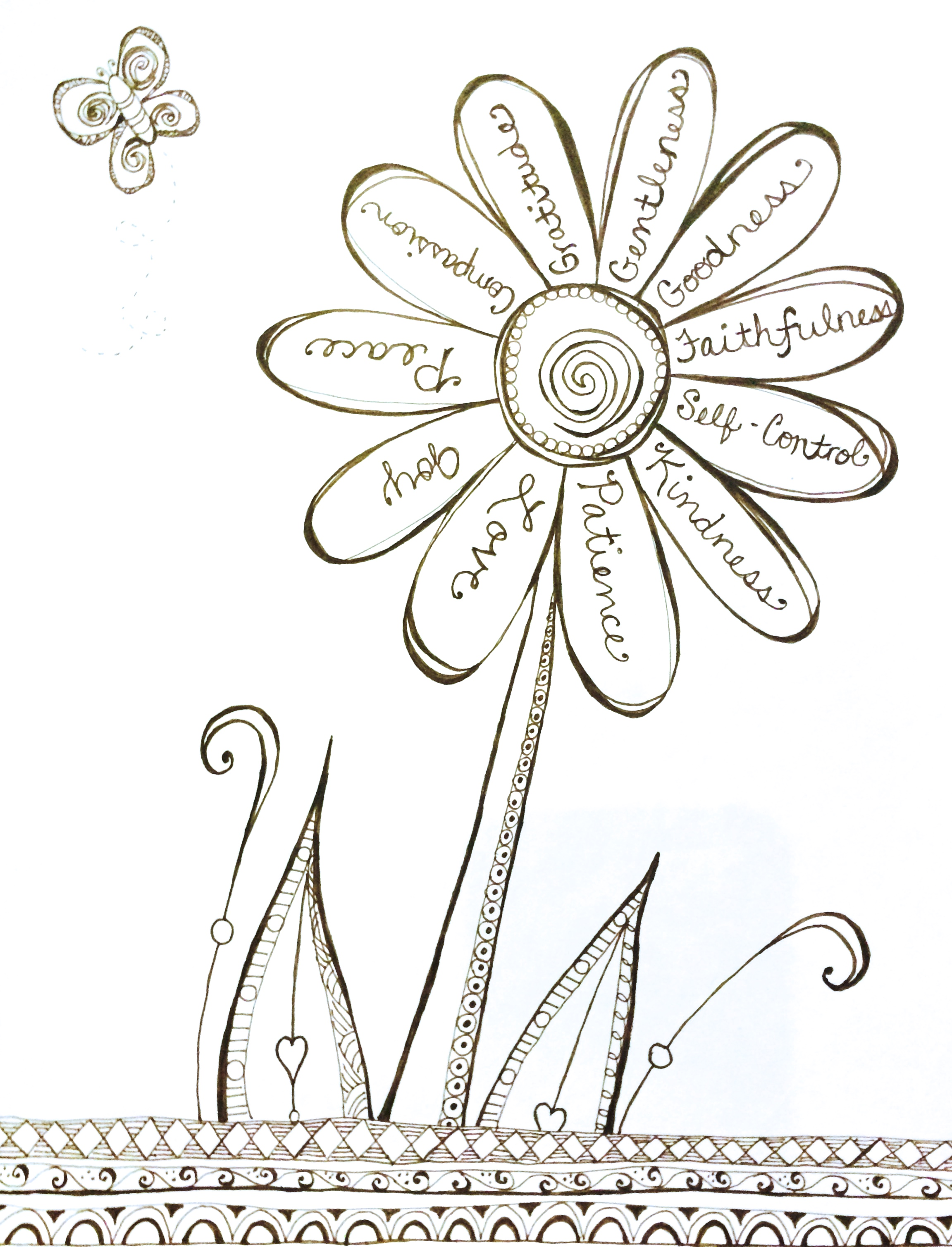 Compassion Coloring Pages At Getcolorings