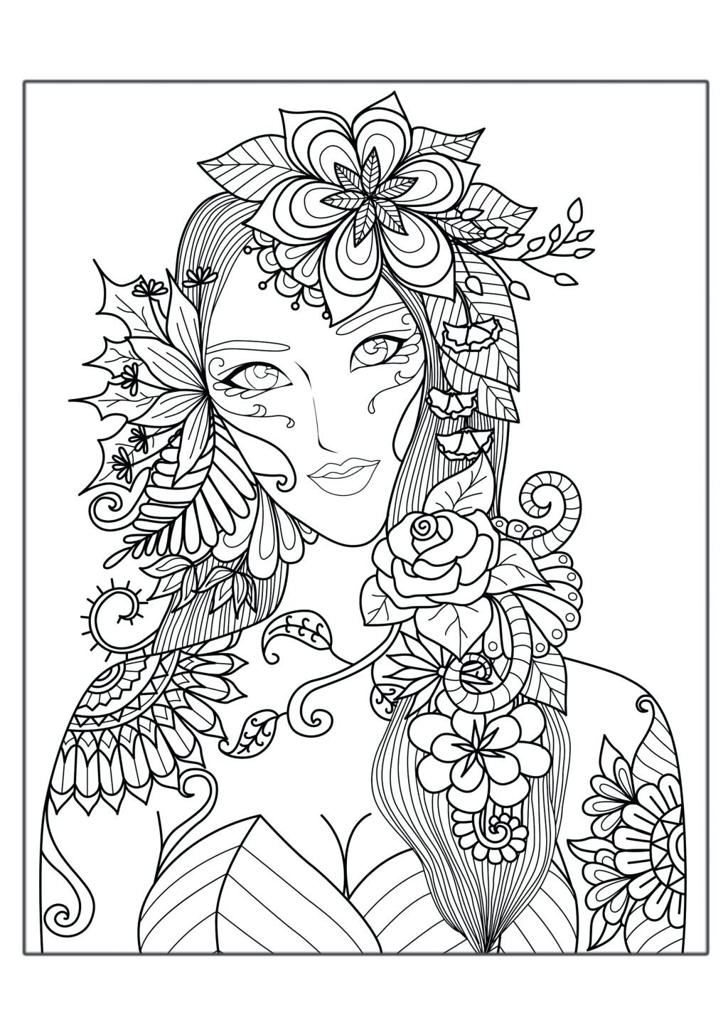 Complex Animal Coloring Pages At Getcolorings