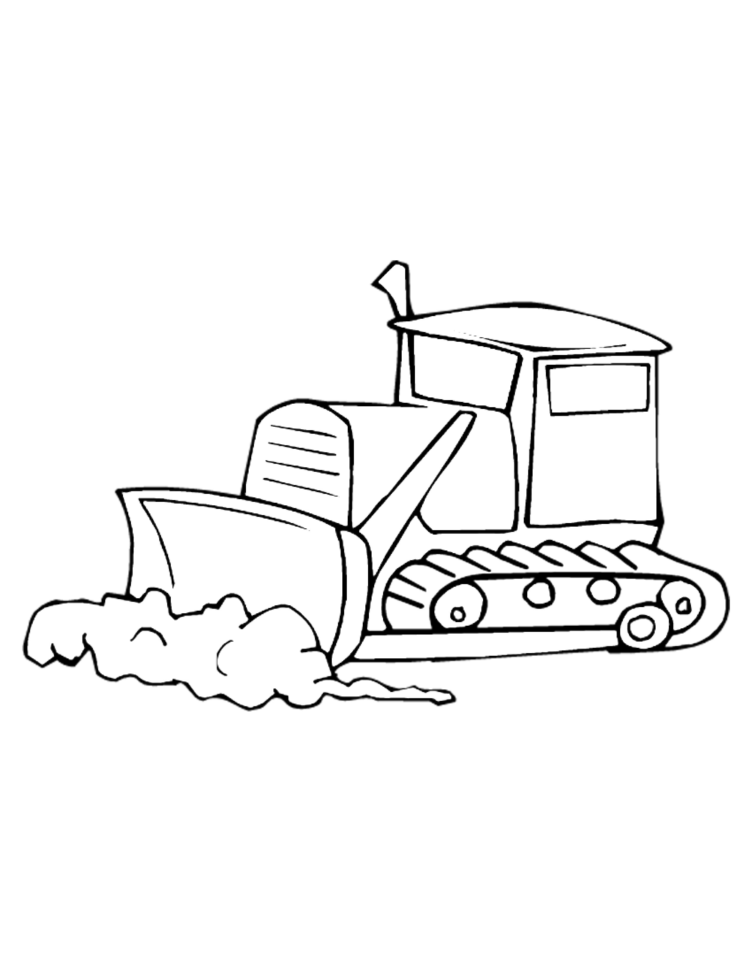 Construction Equipment Coloring Pages At Getcolorings