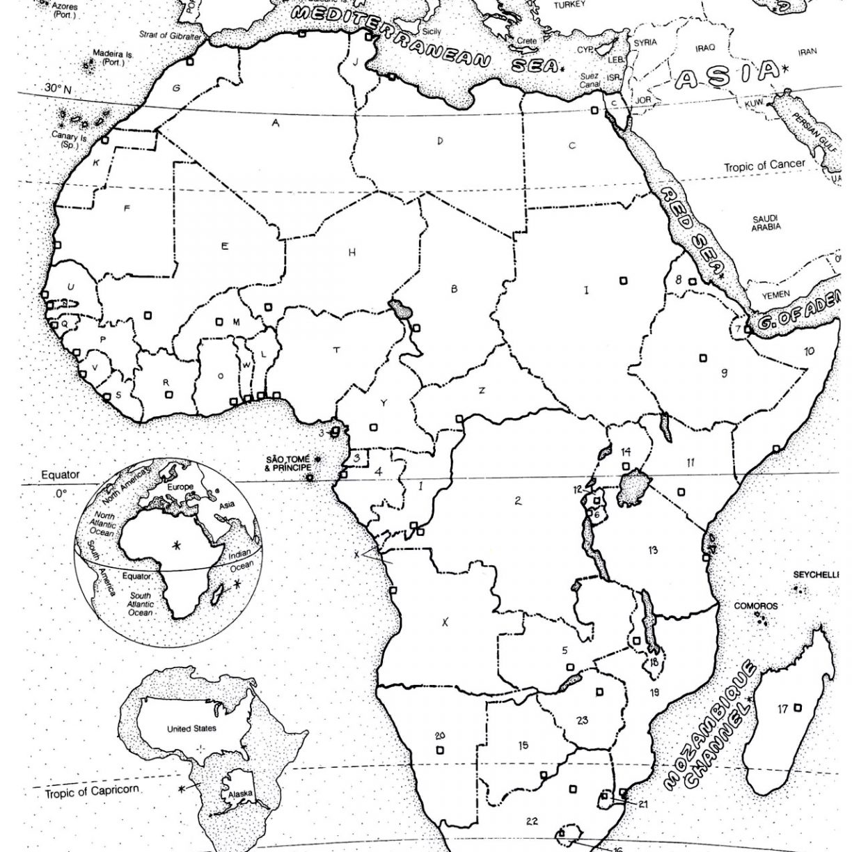 Continents Coloring Page At Getcolorings
