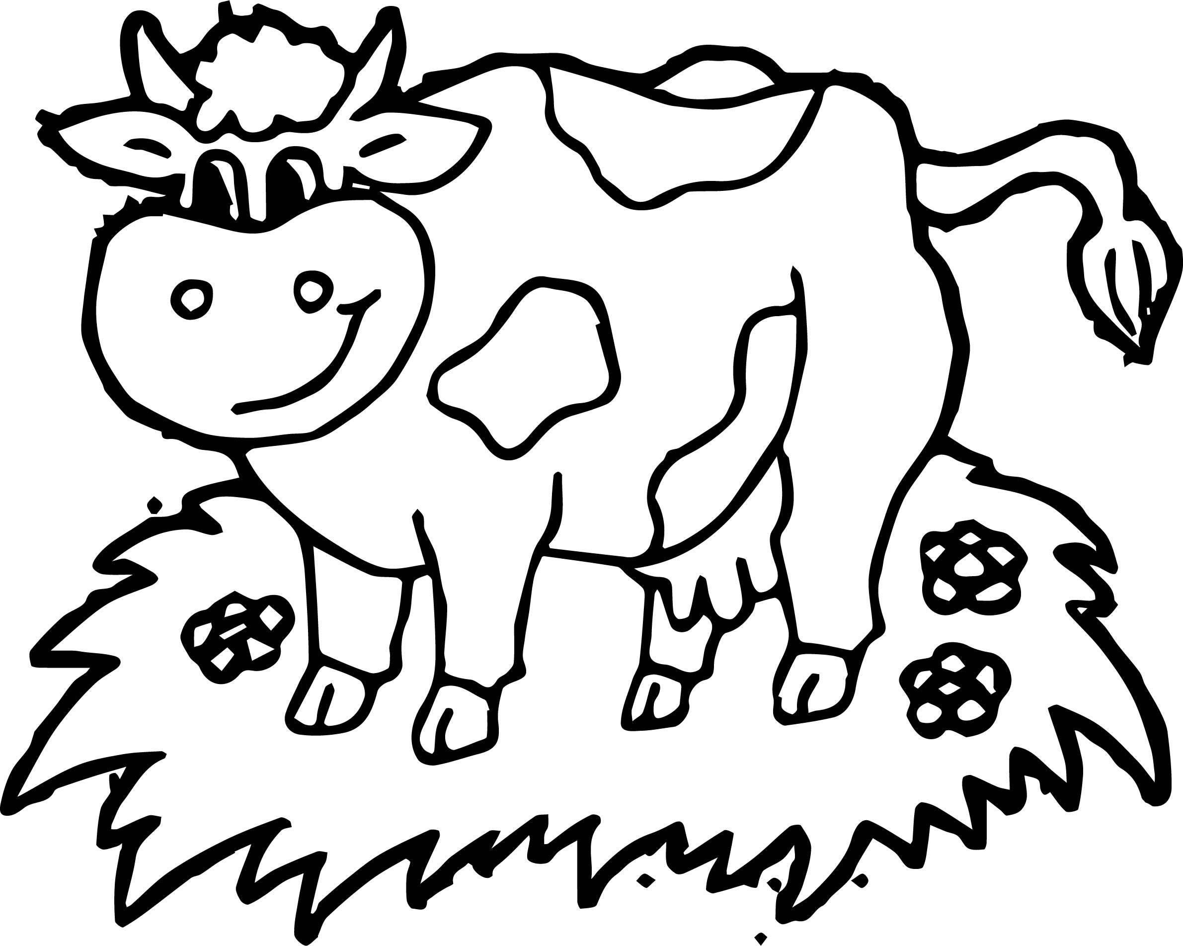 Cow Head Coloring Page At Getcolorings