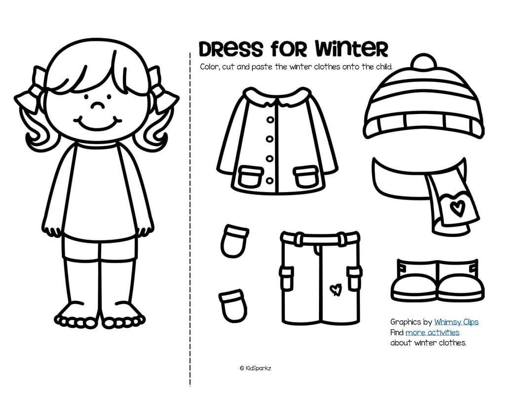 Cut And Paste Coloring Pages At Getcolorings