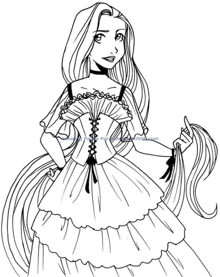 Cute Disney Princess Coloring Pages at GetColorings.com ...   colouring pages to print disney princess