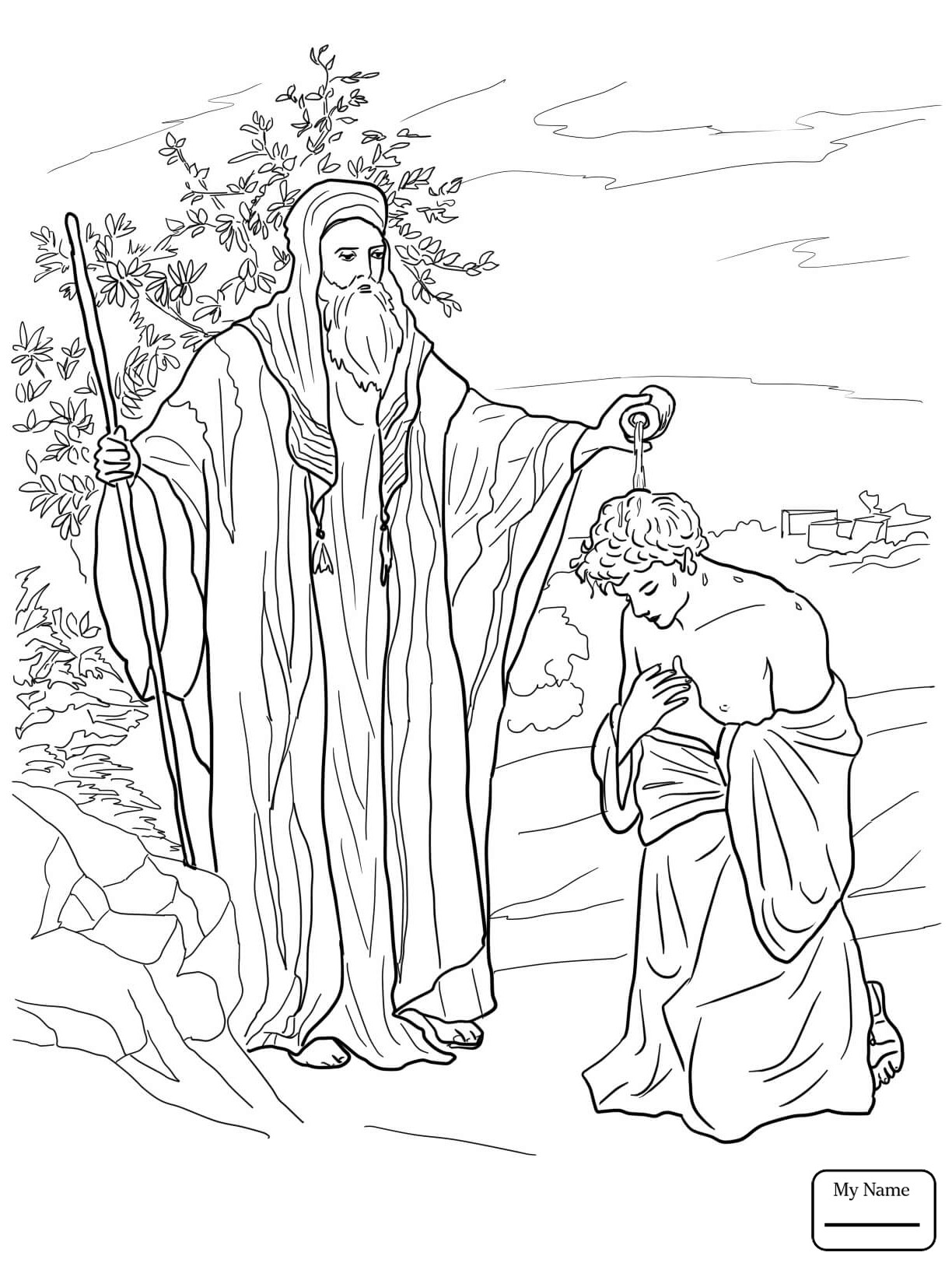 David And Saul Coloring Page At Getcolorings
