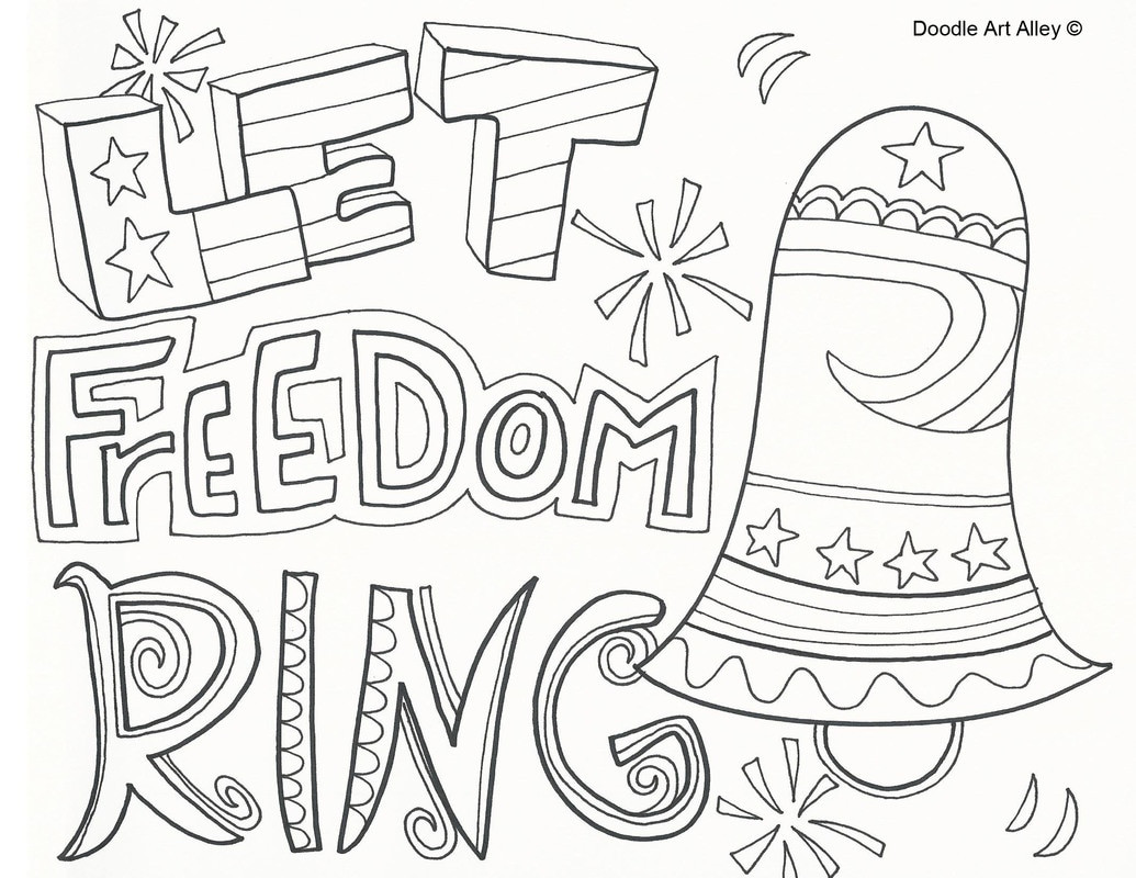 Declaration Of Independence Coloring Page At Getcolorings