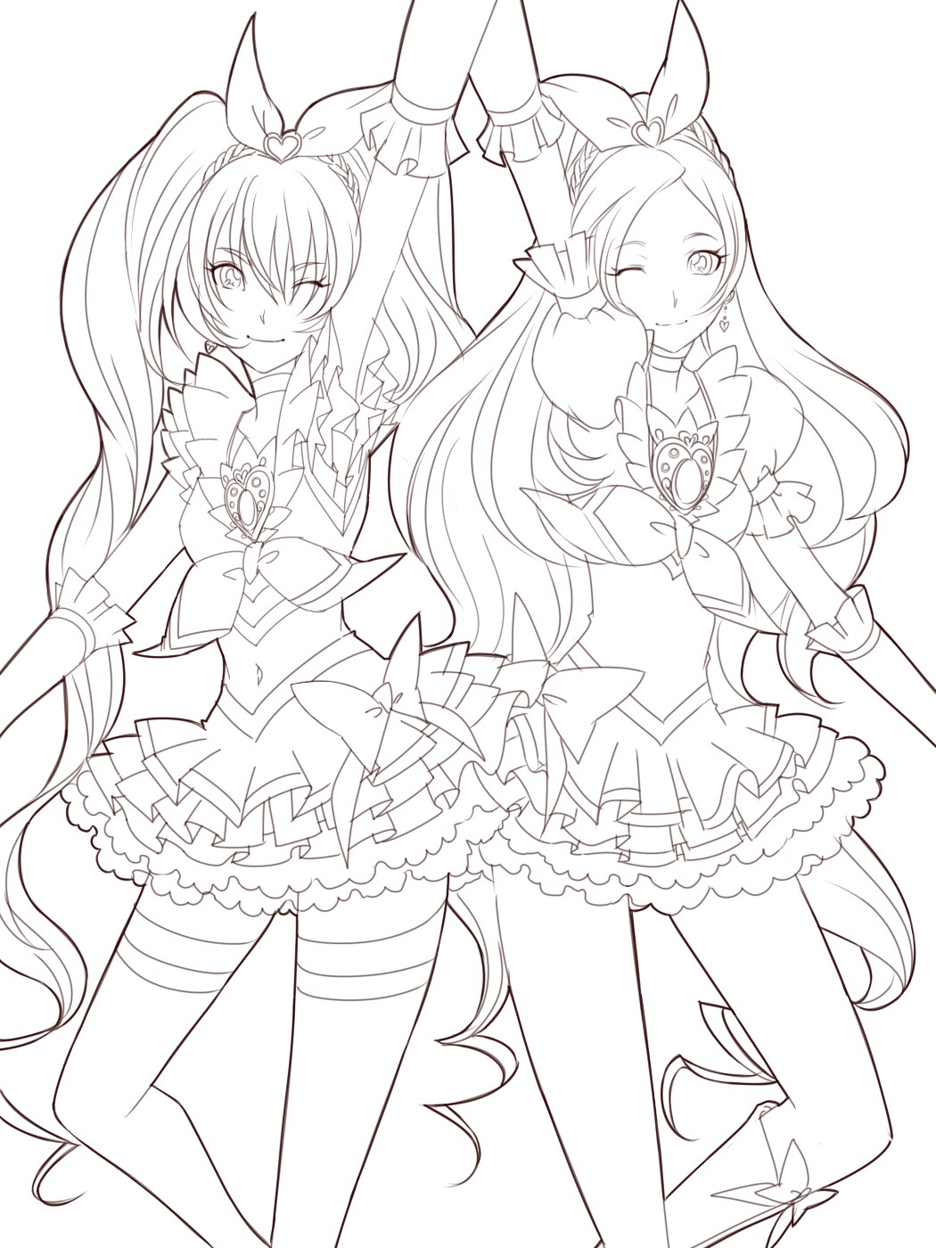 Detailed Anime Coloring Pages At Getcolorings