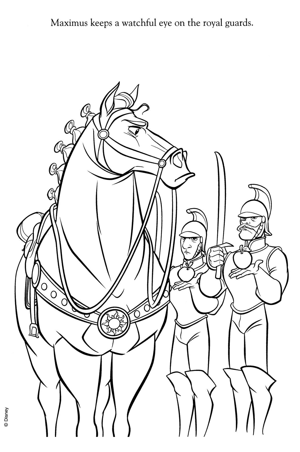 Disney Horse Coloring Pages At Getcolorings