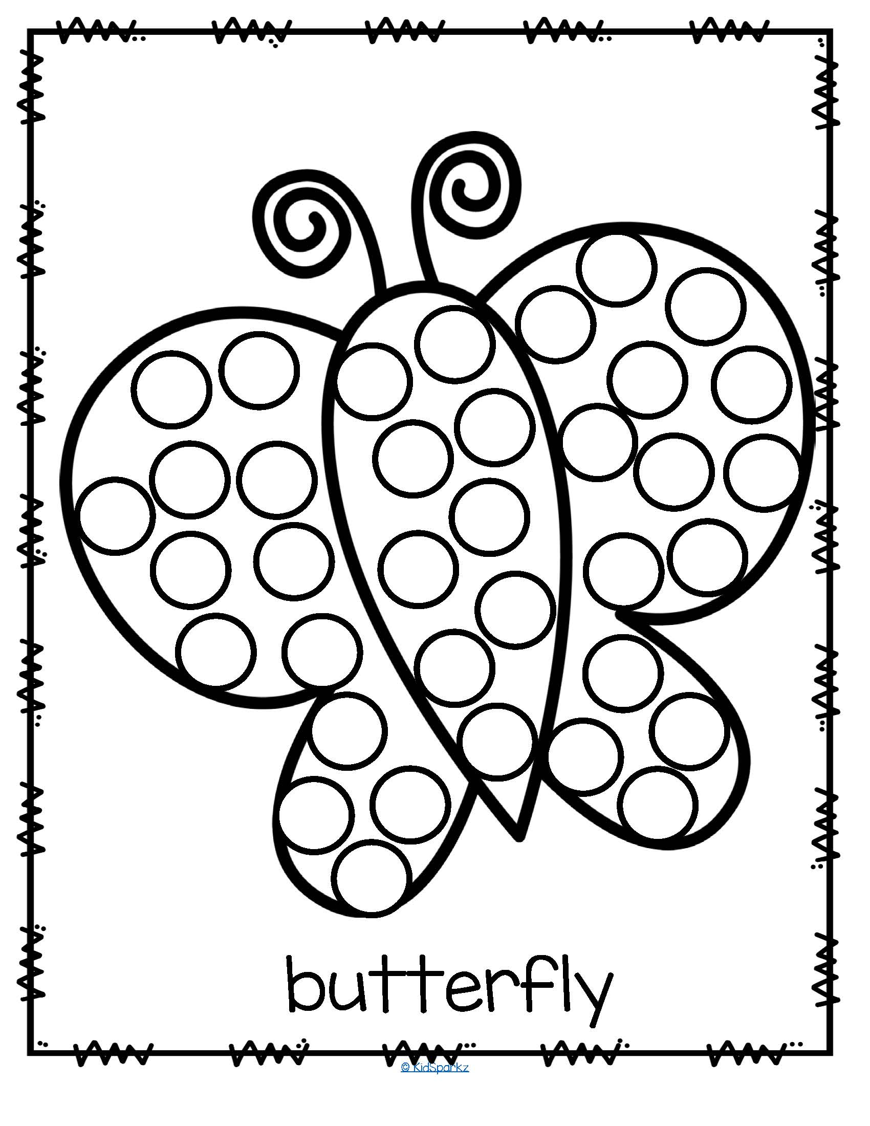 Do A Dot Coloring Pages At Getcolorings
