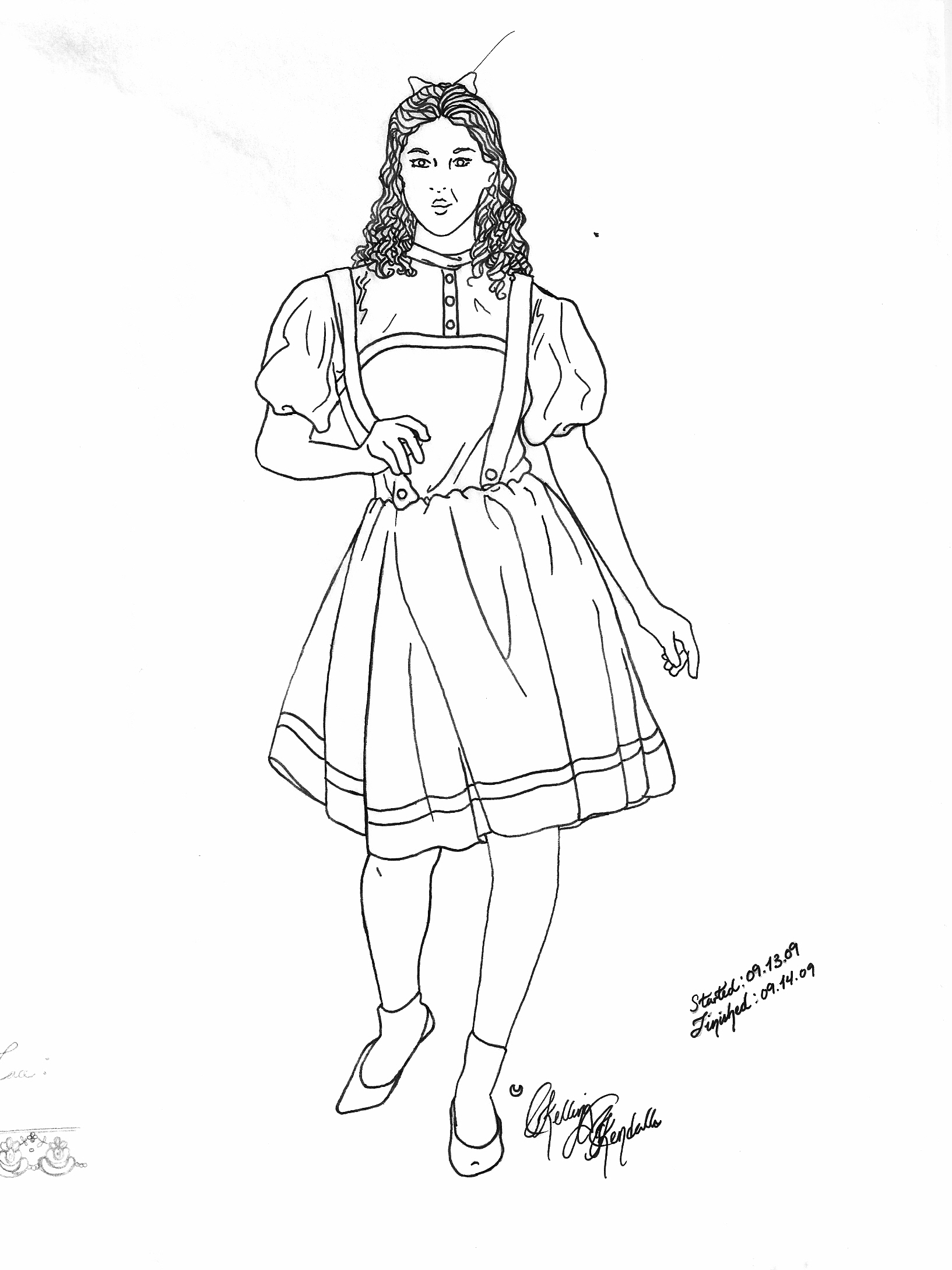Dorothy Coloring Pages At Getcolorings