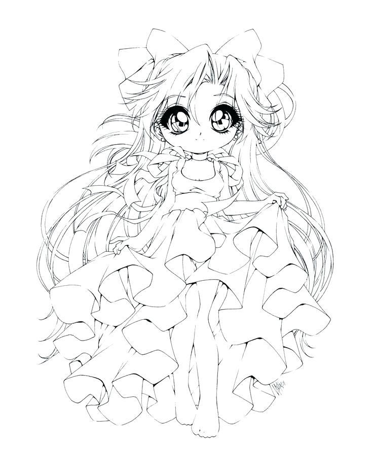 Chibi Baby Cute Princess Coloring Pages Novocom Top