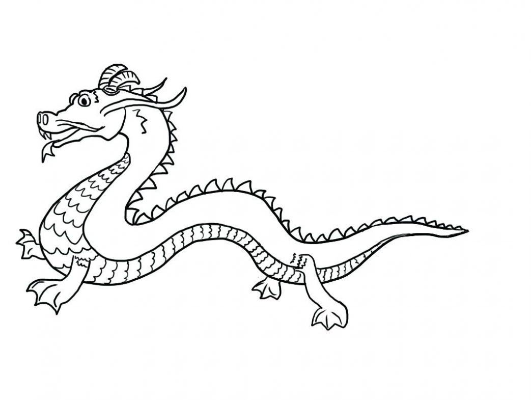 Dragon Tail Coloring Pages At Getcolorings