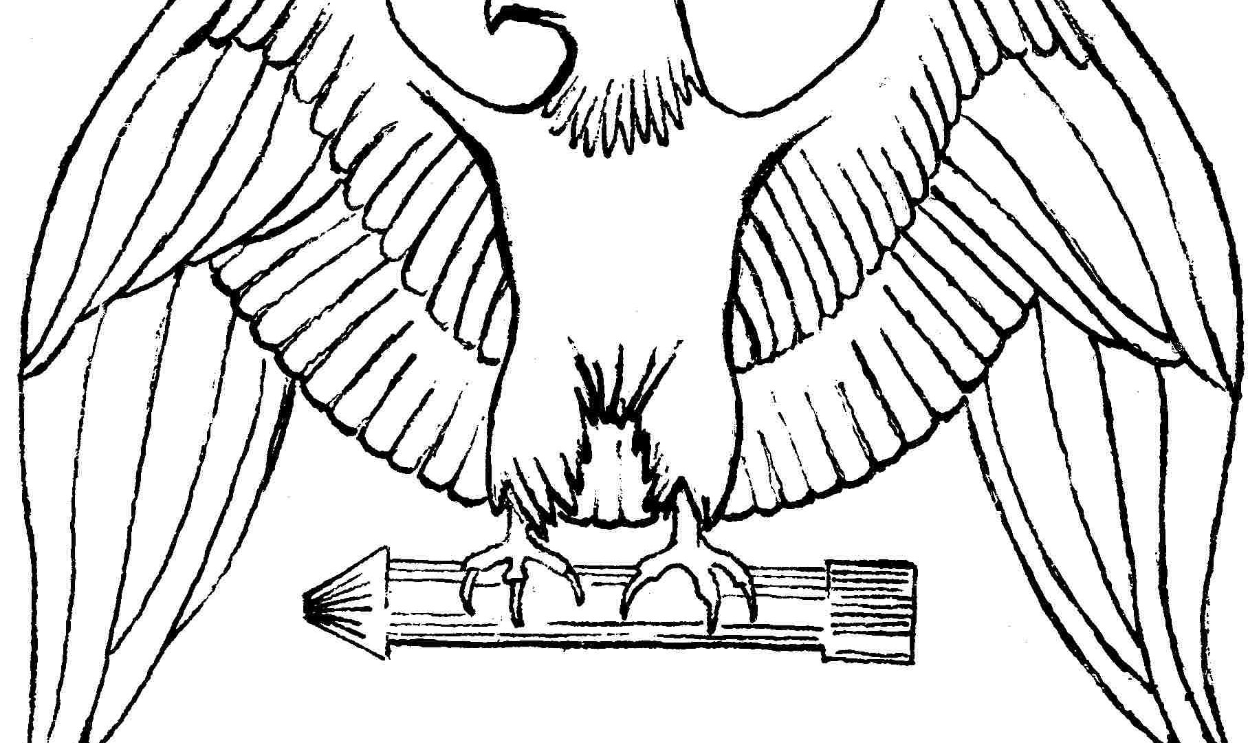 Eagle Flying Coloring Pages At Getcolorings