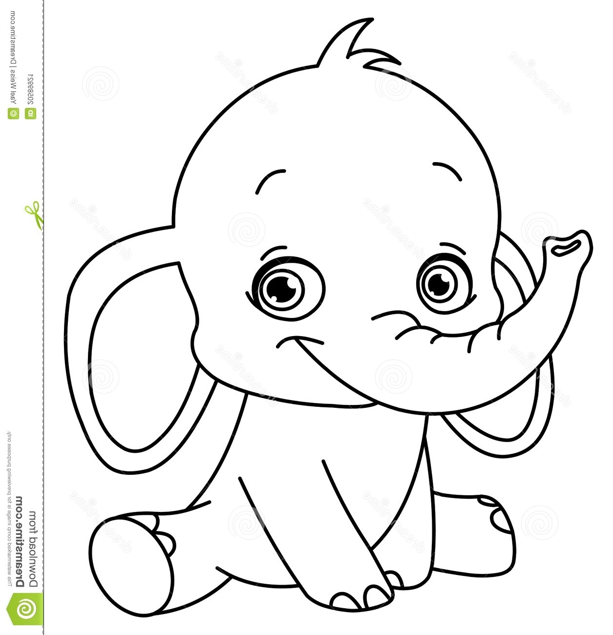 Elephant Coloring Pages At Getcolorings