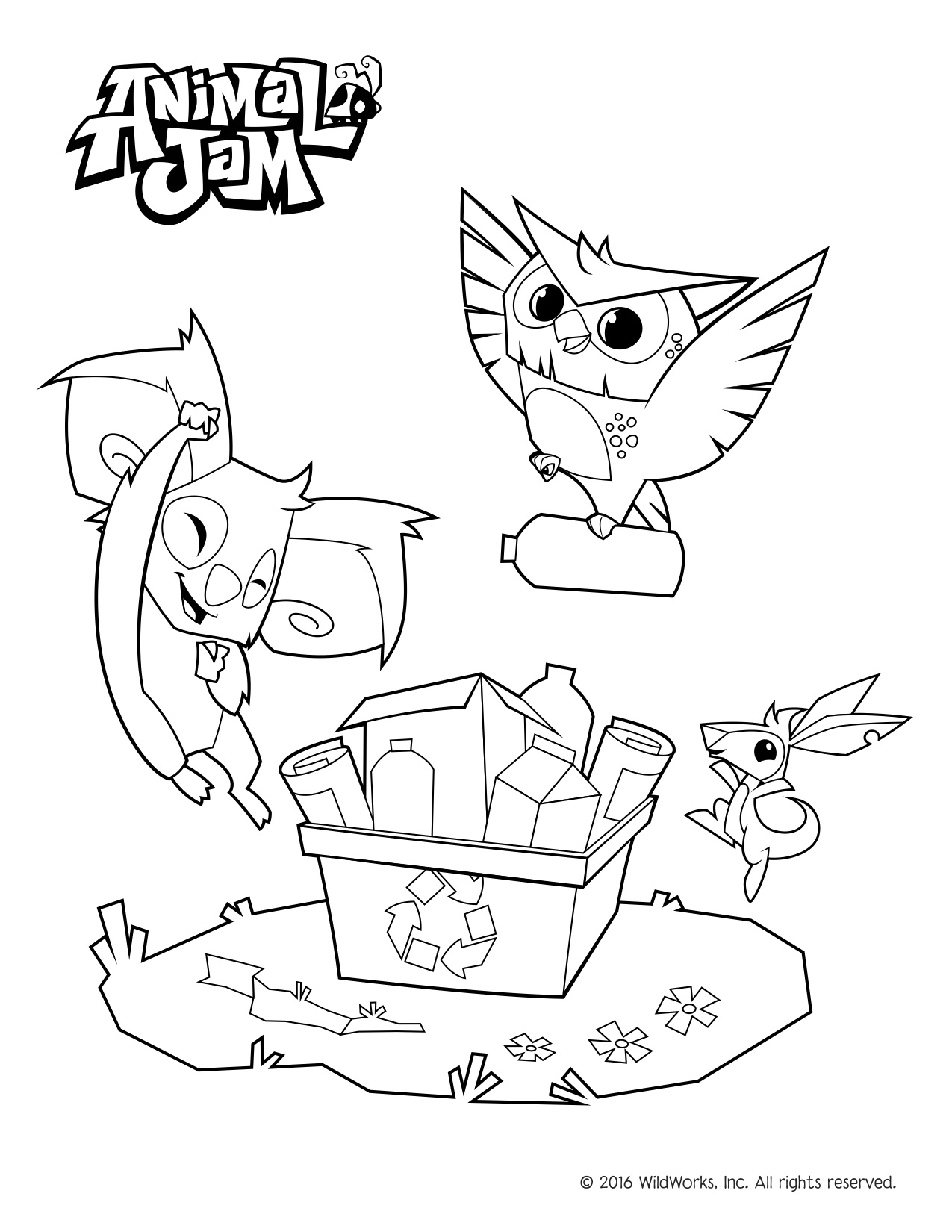 Environment Coloring Pages At Getcolorings