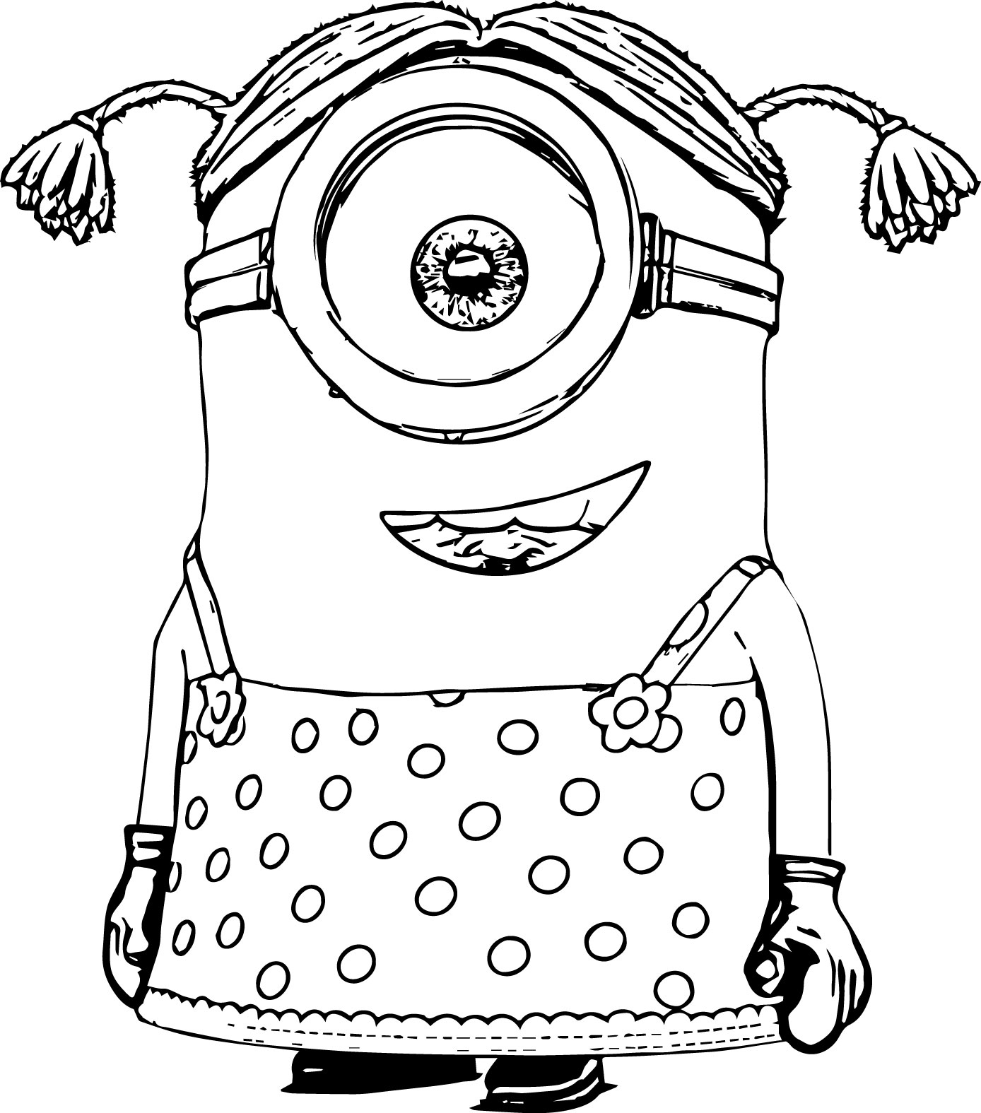 Evil Minion Coloring Pages At Getcolorings