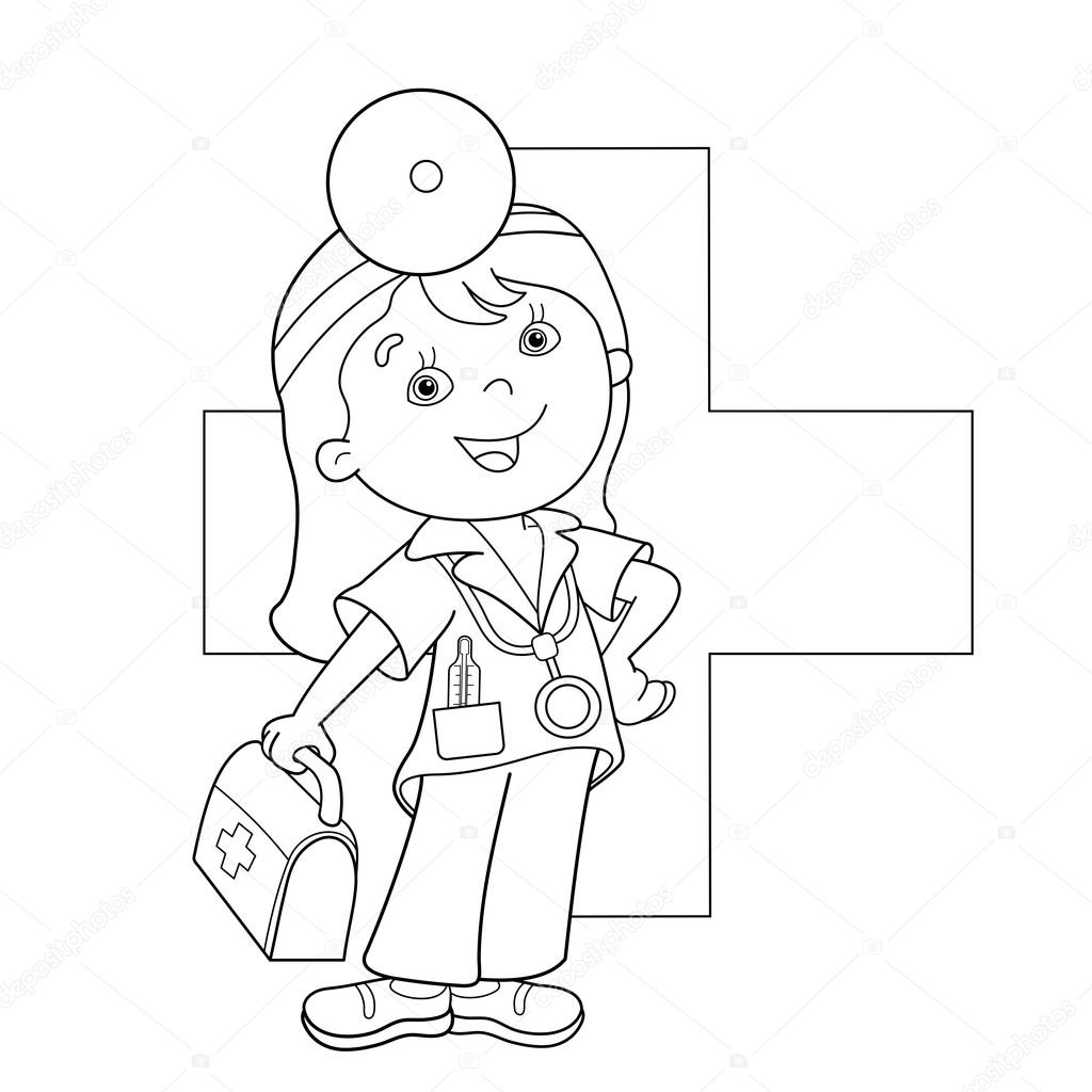 First Aid Coloring Pages At Getcolorings