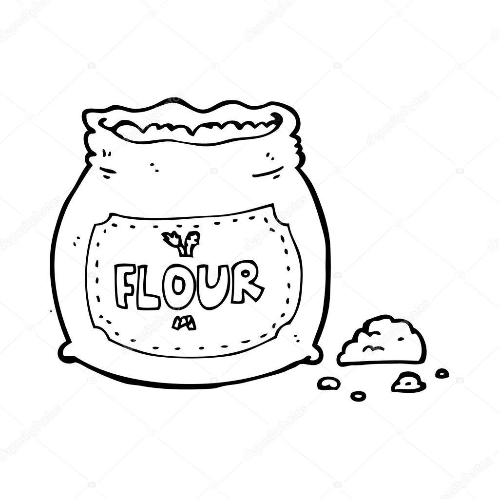 Flour Coloring Pages At Getcolorings