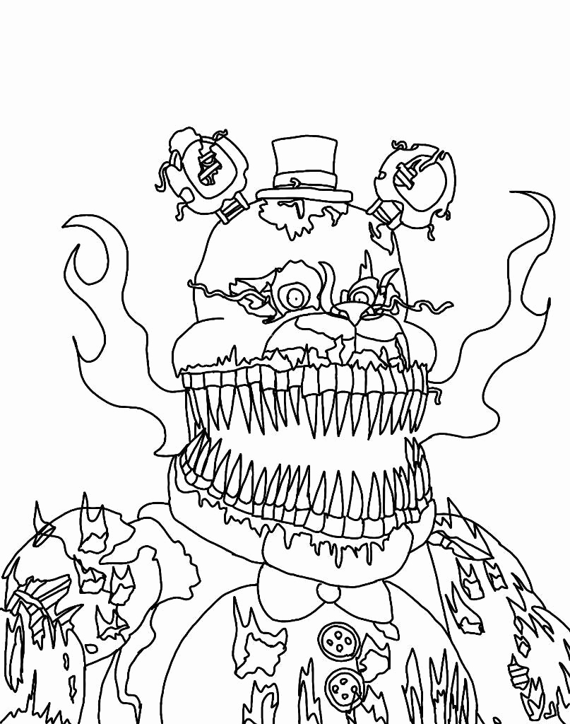 fnaf foxy coloring pages at getcolorings  free