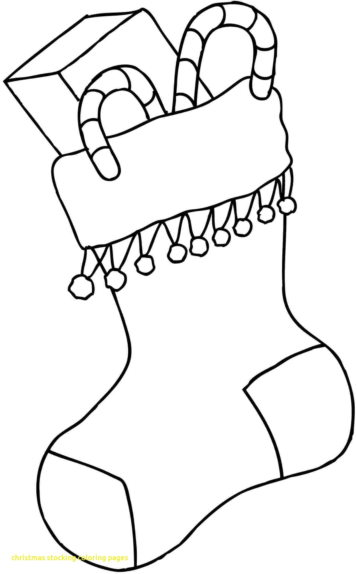 Free Christmas Stocking Coloring Pages At Getcolorings
