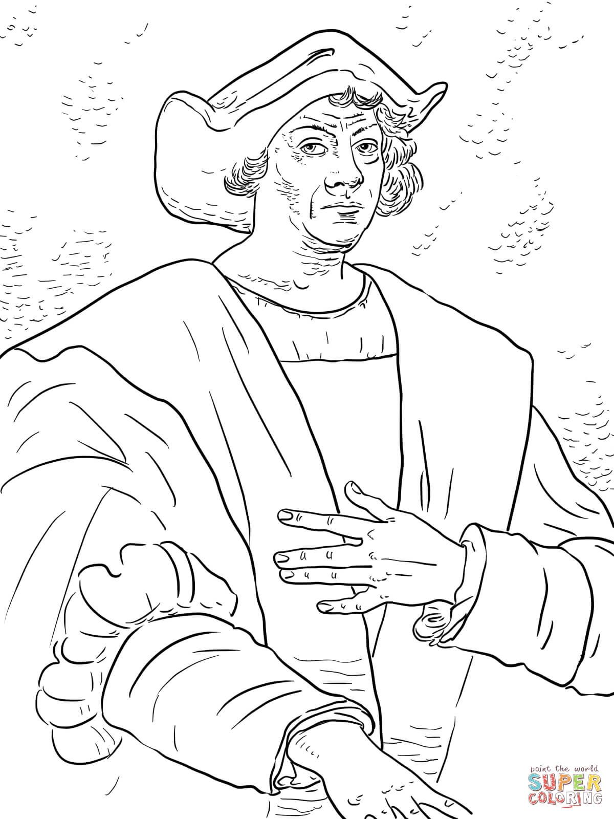 Free Coloring Pages Christopher Columbus At Getcolorings