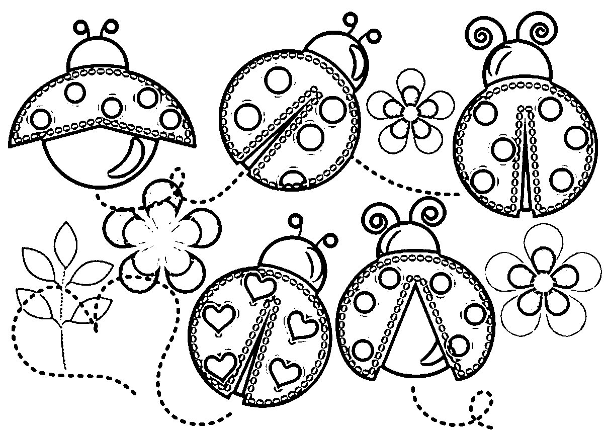 Free Ladybug Coloring Pages At Getcolorings