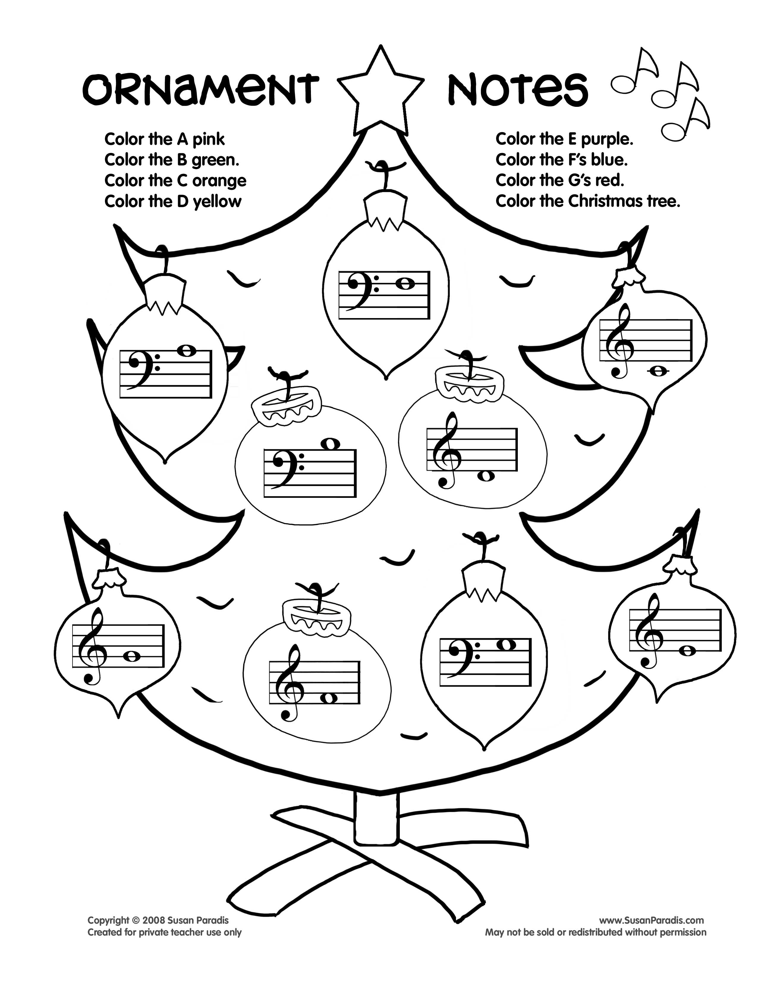 Free Printable Music Notes Coloring Pages At Getcolorings
