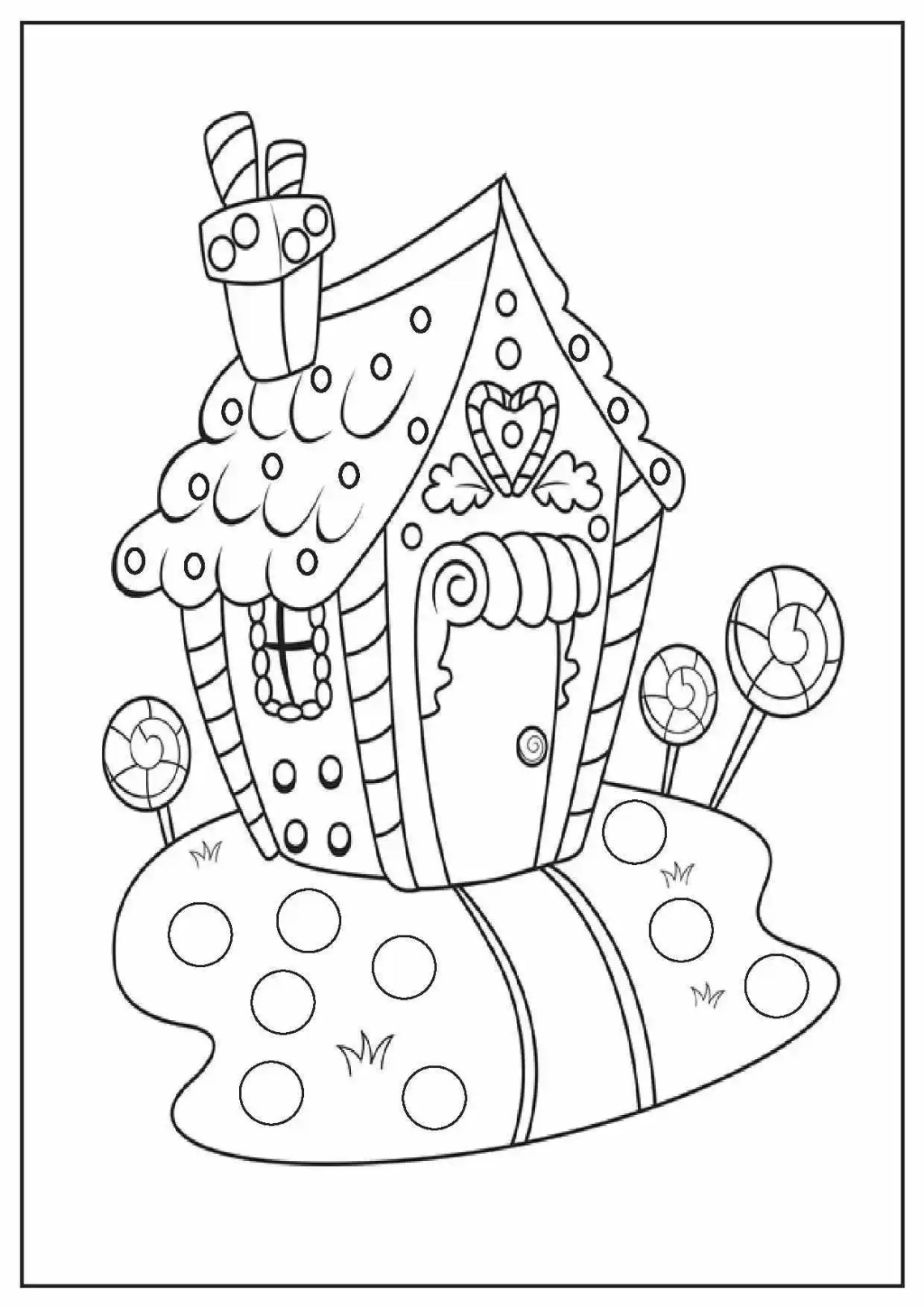 Full Page Christmas Coloring Pages at GetColorings.com ... | free full size printable christmas coloring pages for adults