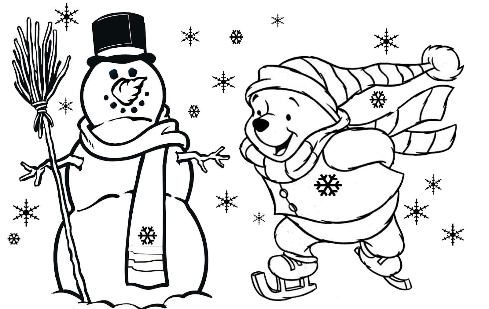 Full Size Christmas Coloring Pages At Getcolorings