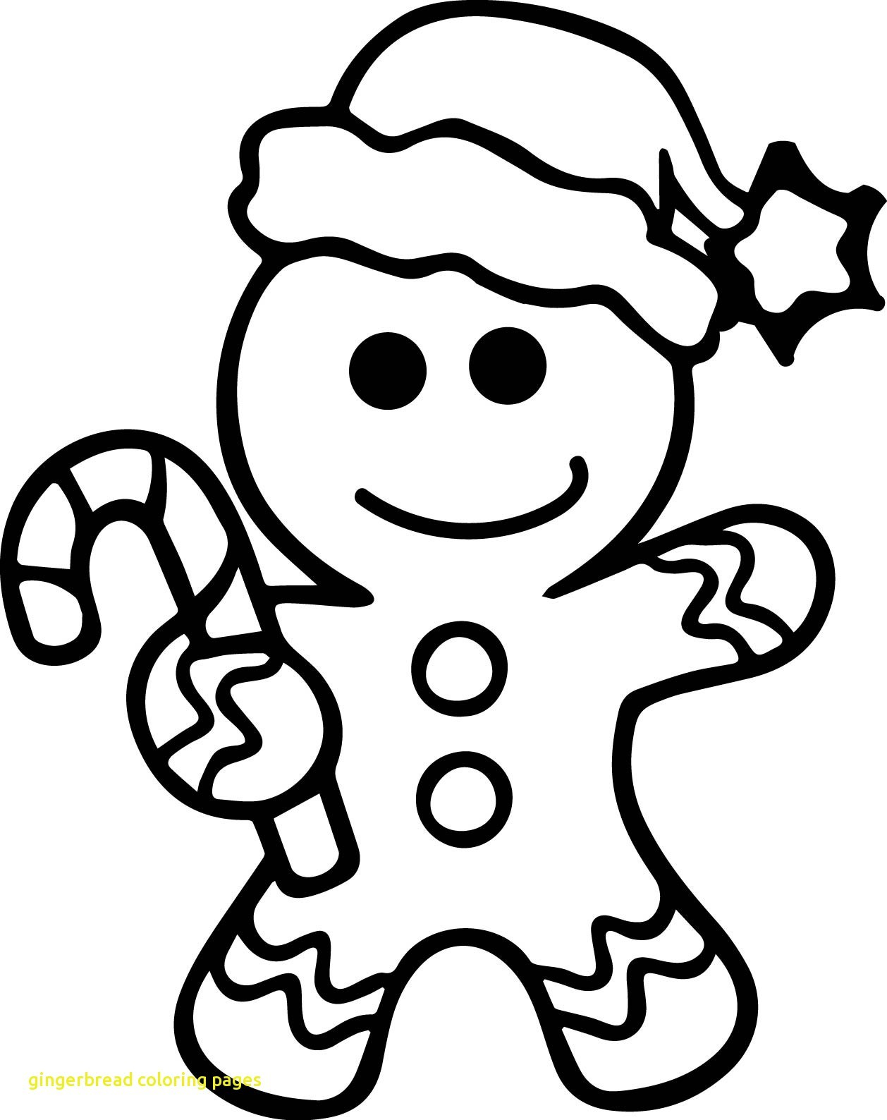 Gingerbread House Coloring Pages At Getcolorings
