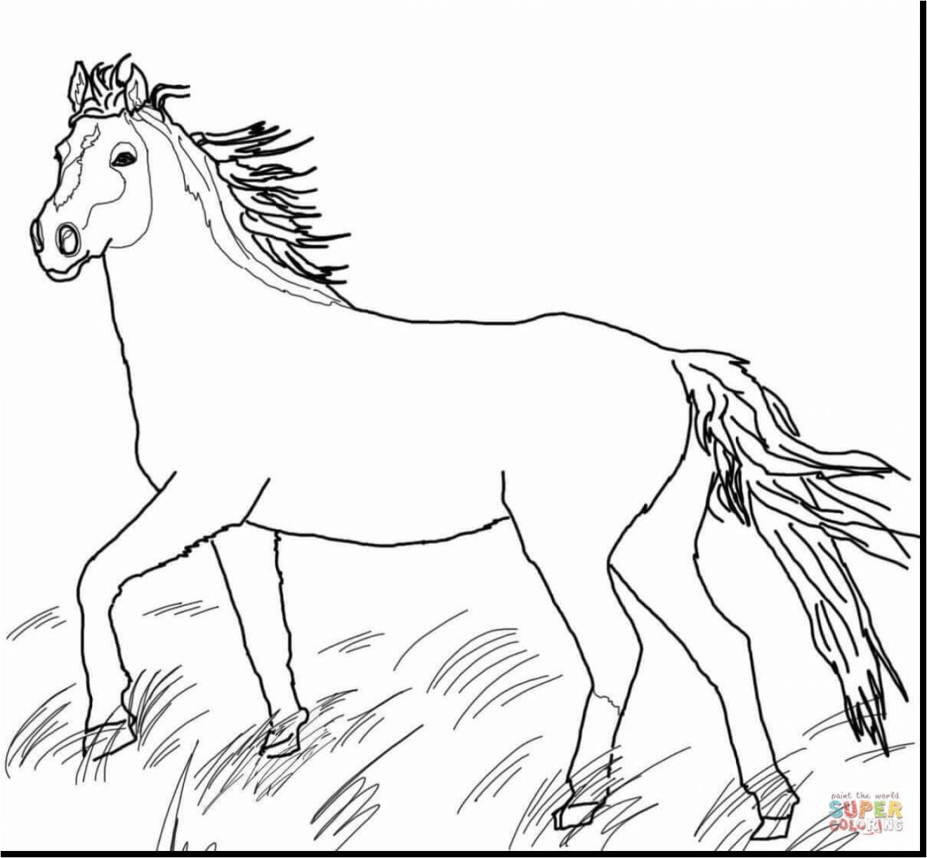 Girl Riding Horse Coloring Pages At Getcolorings