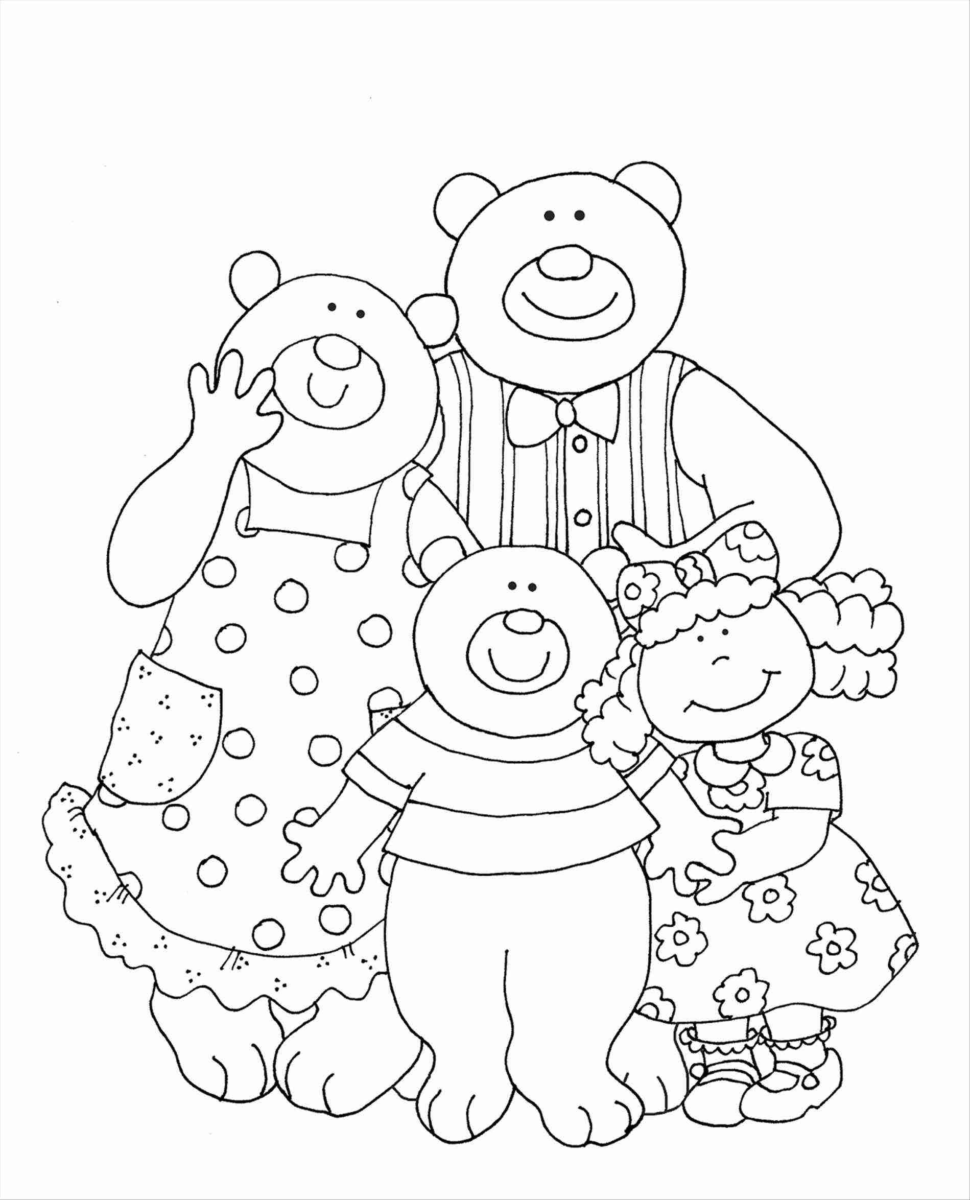Goldilocks Coloring Pages At Getcolorings