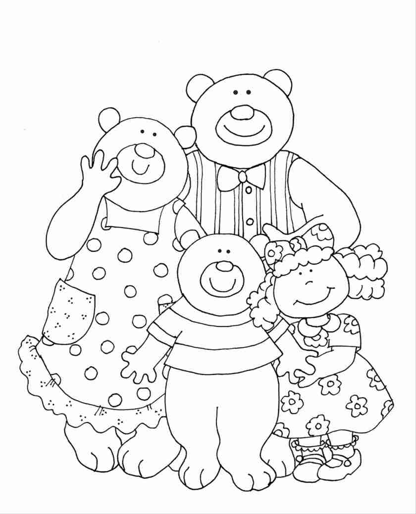 goldilocks coloring pages at getcolorings  free