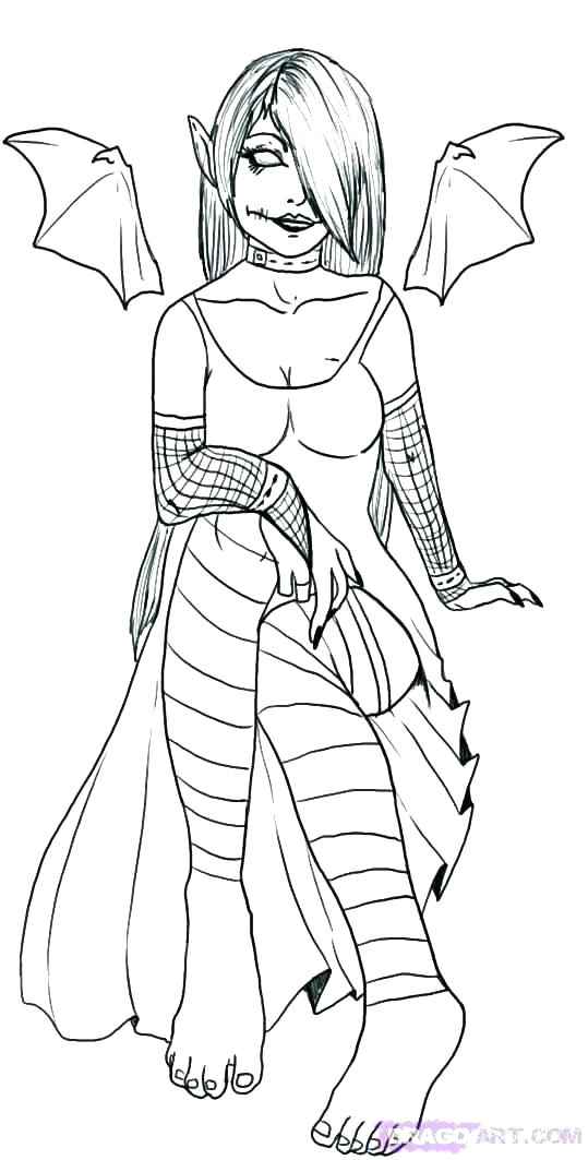 gothic anime coloring pages at getcolorings  free